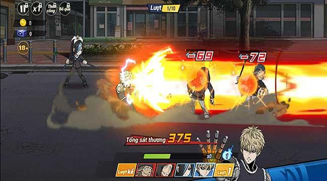 Trải nghiệm One Punch Man: The Strongest  – Đắm mình trong thế giới anime chuẩn nguyên tác
