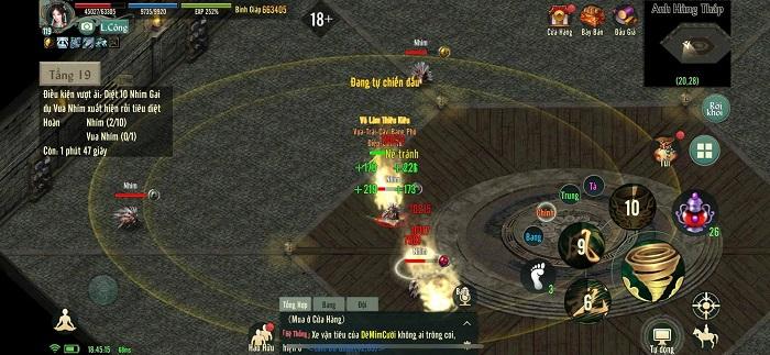 Chinh phục Anh Hùng Tháp - tính năng siêu hot của bản Update Võ Lâm Truyền Kỳ 1 Mobile 1
