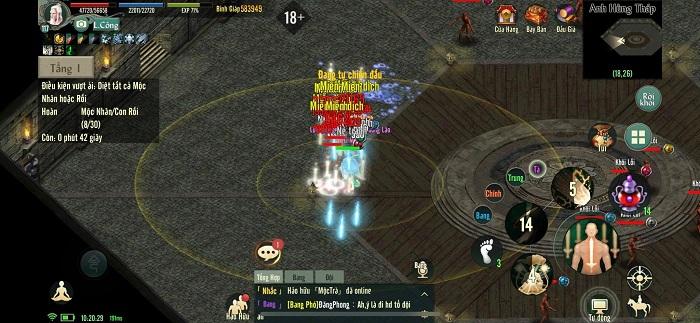 Chinh phục Anh Hùng Tháp - tính năng siêu hot của bản Update Võ Lâm Truyền Kỳ 1 Mobile 2