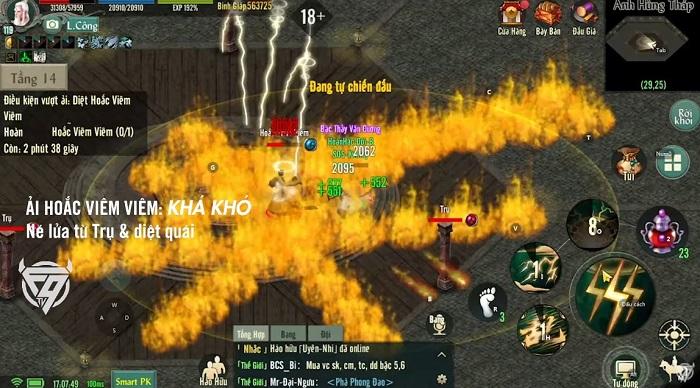 Chinh phục Anh Hùng Tháp - tính năng siêu hot của bản Update Võ Lâm Truyền Kỳ 1 Mobile 5