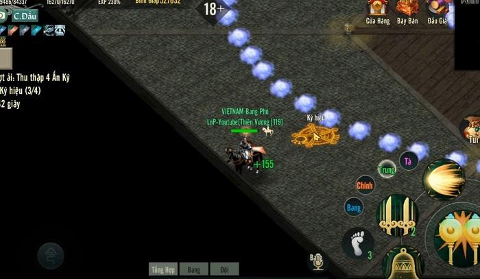 Chinh phục Anh Hùng Tháp - tính năng siêu hot của bản Update Võ Lâm Truyền Kỳ 1 Mobile 6