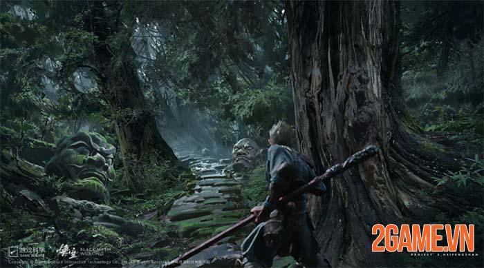 Black Myth: Wukong mê hoặc với đồ họa trên nền tảng Unreal Engine 5 0