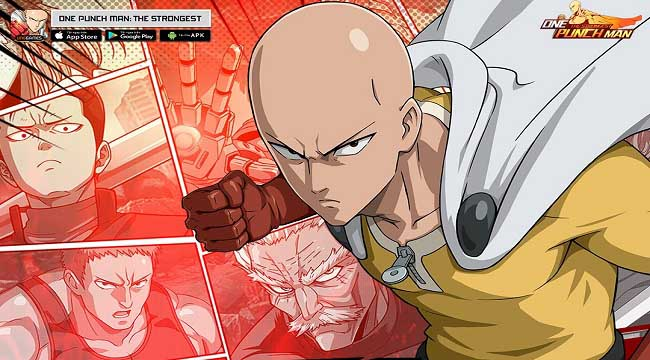 Tặng 500 giftcode One Punch Man: The Strongest mừng ra mắt thành công