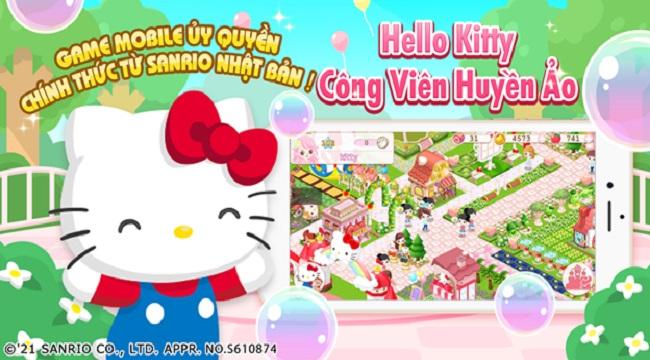 Hello Kitty Công Viên Huyền Ảo ấn định thời gian chính thức ra mắt