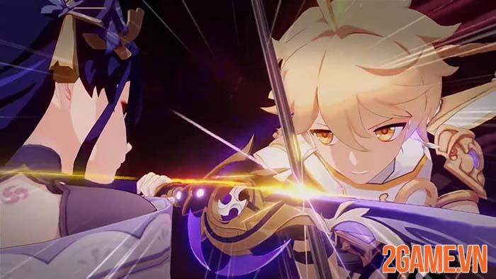 Nhá hàng Genshin Impact 2.1 mê hoặc game thủ với trận chiến Lôi Thần 2