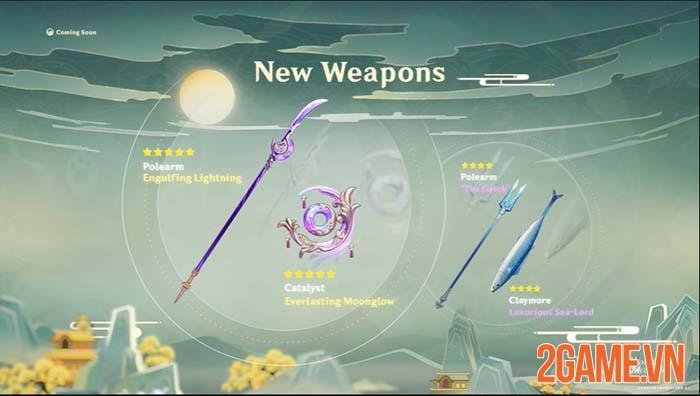 Nhá hàng Genshin Impact 2.1 mê hoặc game thủ với trận chiến Lôi Thần 3