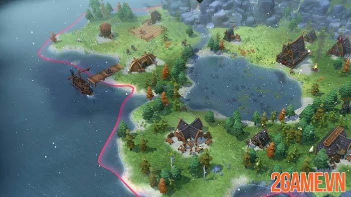 Northgard - Siêu phẩm chiến thuật Viking chính thức ra mắt trong tháng 8 0