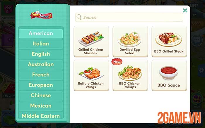 Star Chef 2 - Game giả lập nấu ăn độc đáo dành cho game thủ mobile 1