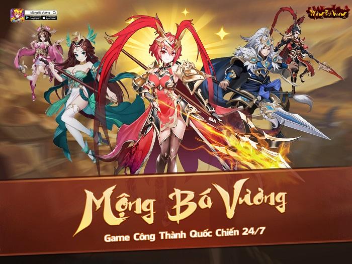 Mộng Bá Vương  – Tựa game mobile chiến thuật Tam Quốc cực Cute sắp ra mắt 0