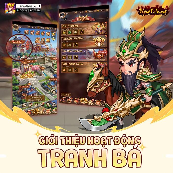 Mộng Bá Vương  – Tựa game mobile chiến thuật Tam Quốc cực Cute sắp ra mắt 1