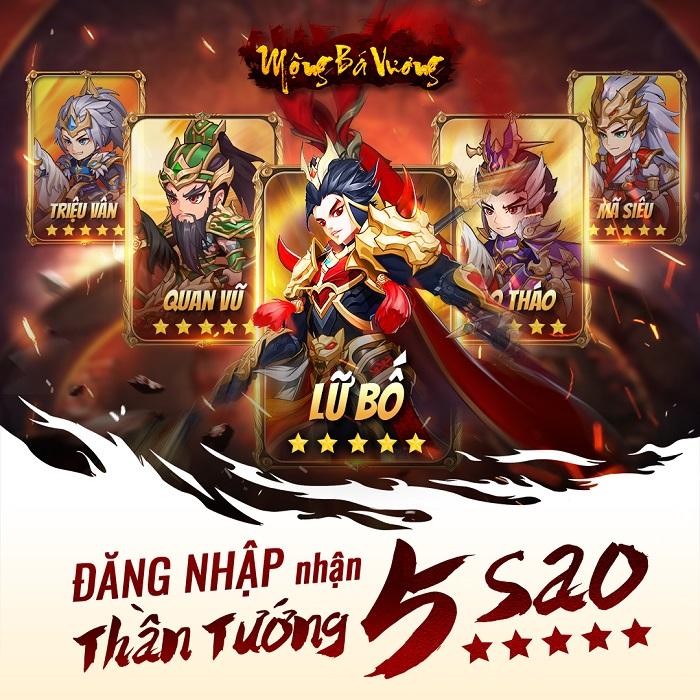 Mộng Bá Vương  – Tựa game mobile chiến thuật Tam Quốc cực Cute sắp ra mắt 3