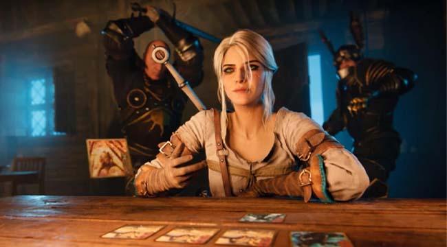 Một game thủ được cứu mạng bởi bộ bài Gwent trong game The Witcher