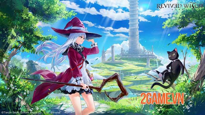 Revived Witch - Game nhập vai nghệ thuật pixel chuyển động Live2D 0