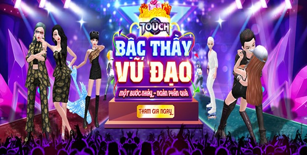 Game vũ đạo Touch bùng nổ với sự kiện cover bước nhảy cùng phần thưởng cực hot 0