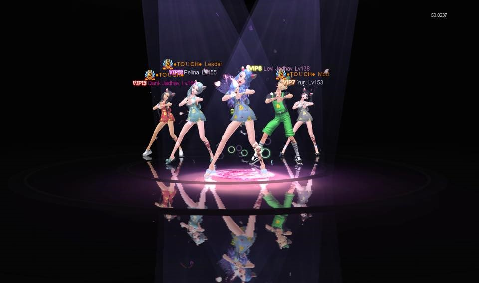 Game vũ đạo Touch bùng nổ với sự kiện cover bước nhảy cùng phần thưởng cực hot 1