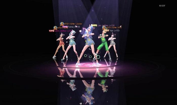 Game vũ đạo Touch bùng nổ với sự kiện cover bước nhảy cùng phần thưởng cực hot 5