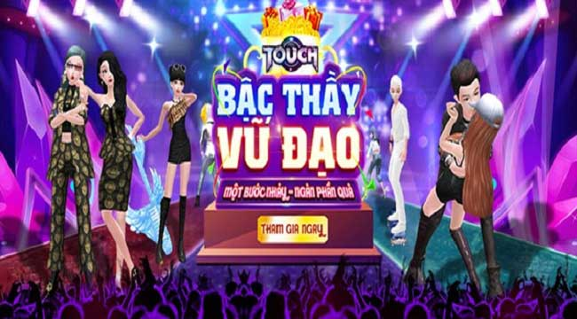 Game vũ đạo Touch bùng nổ với sự kiện cover bước nhảy cùng phần thưởng cực hot