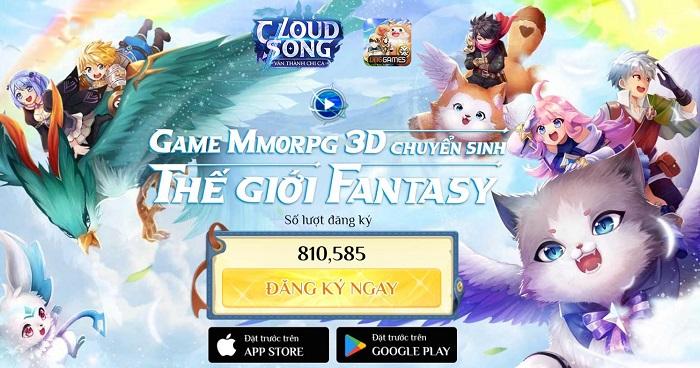Game MMORPG 3D Cloud Song VNG ấn định thời gian ra mắt 1