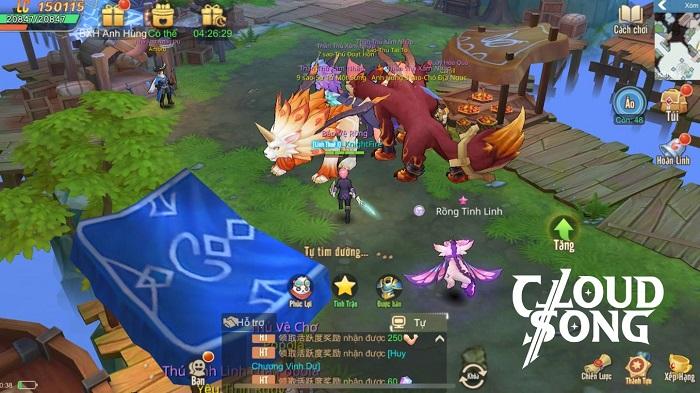 Game MMORPG 3D Cloud Song VNG ấn định thời gian ra mắt 2