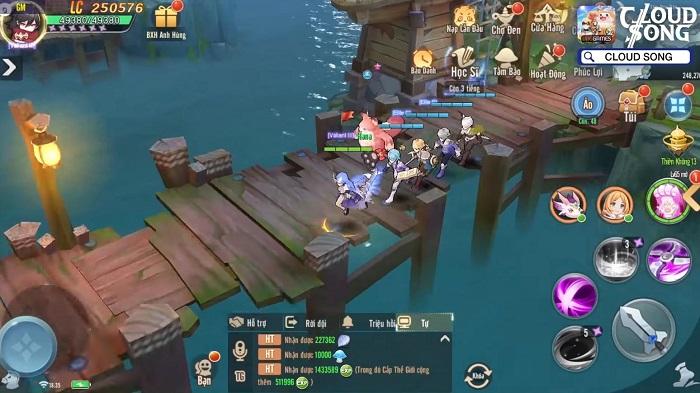 Game MMORPG 3D Cloud Song VNG ấn định thời gian ra mắt 3