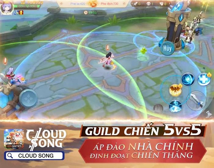 Game MMORPG 3D Cloud Song VNG ấn định thời gian ra mắt 5