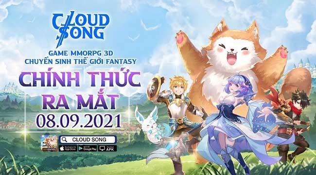 Game MMORPG 3D Cloud Song VNG ấn định thời gian ra mắt