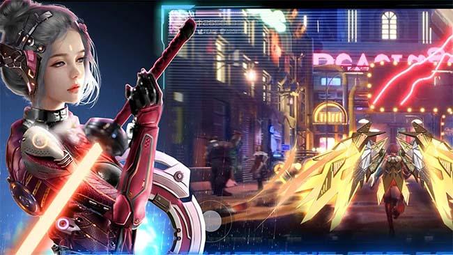 Cyber Fantasy – Game thế giới mở mang chất Cyberpunk 2077 lên mobile