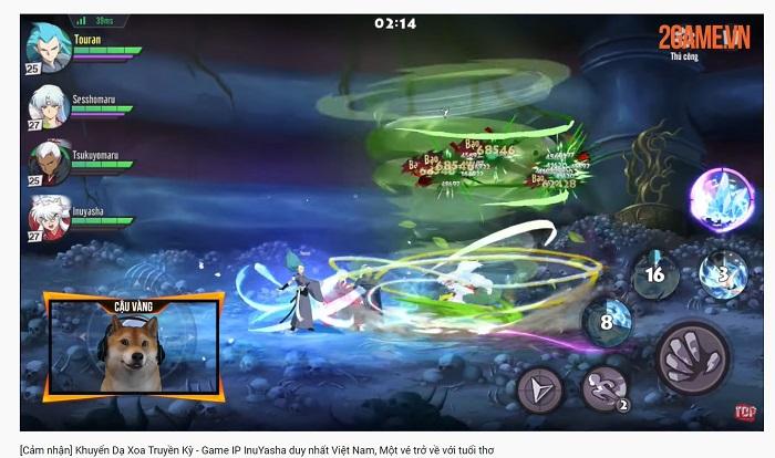 Giới streamer Việt nói gì về Khuyển Dạ Xoa Truyền Kỳ - tựa game duy nhất sở hữu bản quyền InuYasha tại Việt Nam? 5
