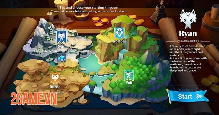 Heroes Conquest - Game chiến thuật thời gian thực đẹp mắt của EyouGame 1