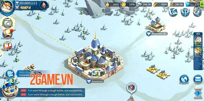 Heroes Conquest - Game chiến thuật thời gian thực đẹp mắt của EyouGame 0