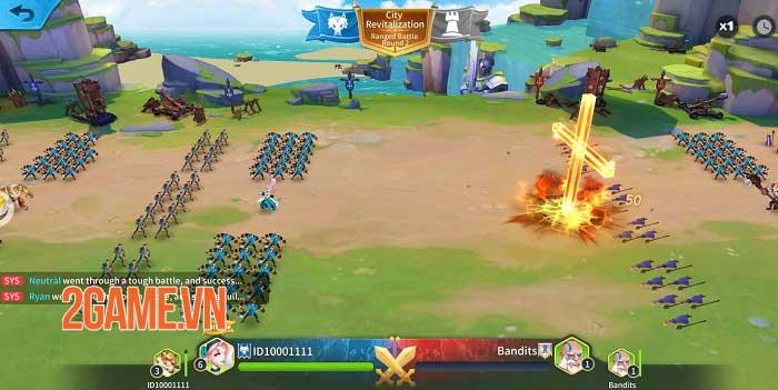 Heroes Conquest - Game chiến thuật thời gian thực đẹp mắt của EyouGame 3