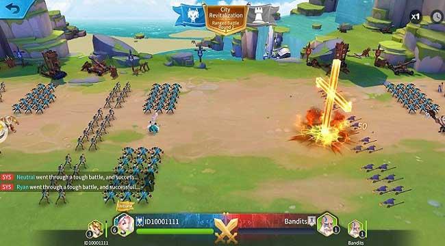 Heroes Conquest – Game chiến thuật thời gian thực đẹp mắt của EyouGame
