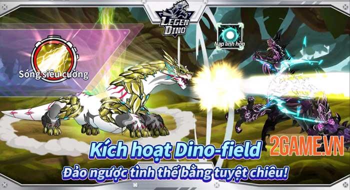 Legendino - Game chiến đấu với bạn bè sử dụng khủng long đã ra mắt 0