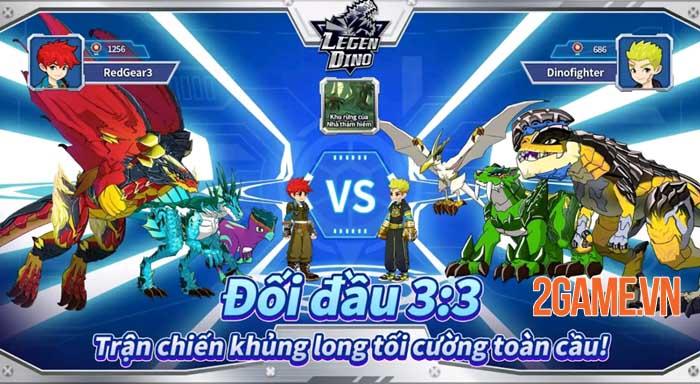 Legendino - Game chiến đấu với bạn bè sử dụng khủng long đã ra mắt 1