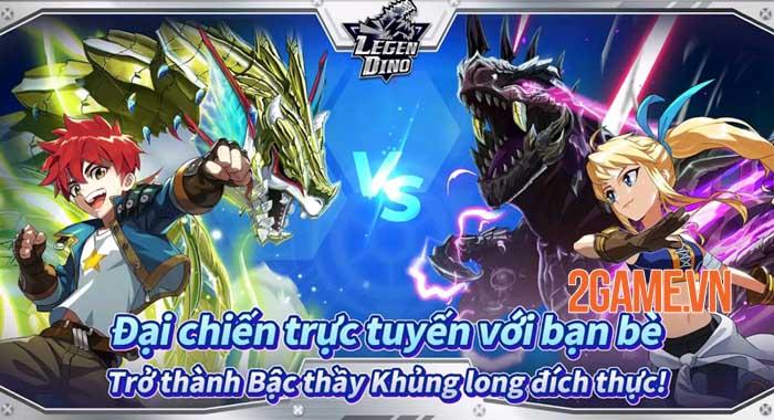 Legendino - Game chiến đấu với bạn bè sử dụng khủng long đã ra mắt 2