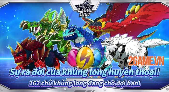Legendino - Game chiến đấu với bạn bè sử dụng khủng long đã ra mắt 3