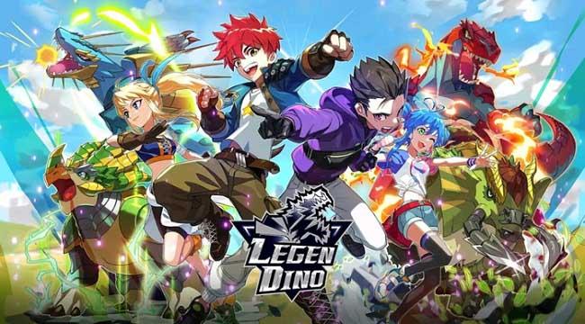 Legendino – Game chiến đấu với bạn bè sử dụng khủng long đã ra mắt