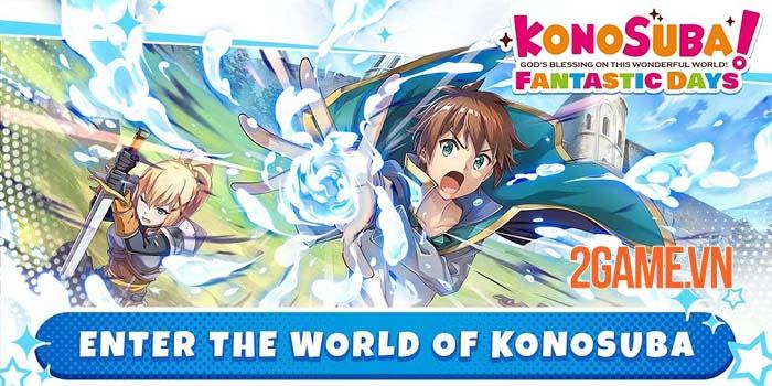 KonoSuba: Fantastic Days đạt một triệu lượt tải xuống chỉ sau năm ngày 1