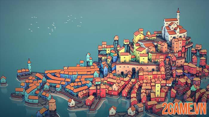 Townscaper - Xây nên thành phố mộng mơ của mỗi game thủ 0