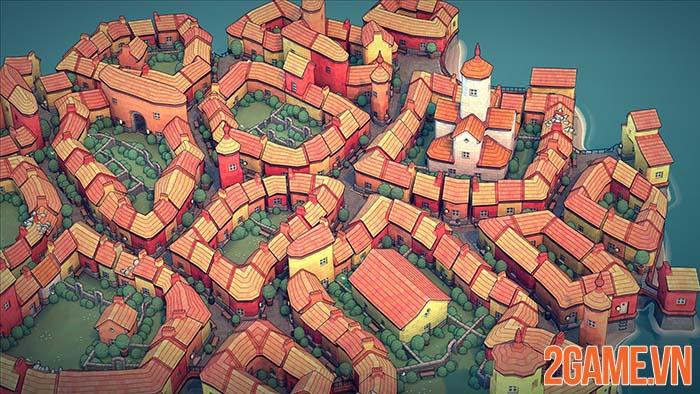 Townscaper - Xây nên thành phố mộng mơ của mỗi game thủ 1
