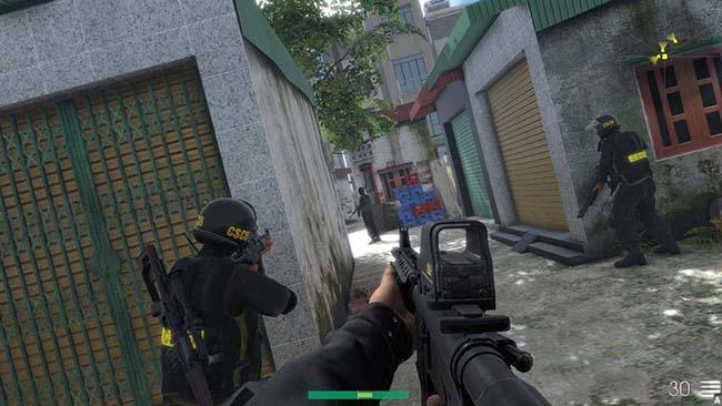 CSCĐ – Vietnam Mobile Police: Game cho phép bạn vào vai lực lượng Cảnh Sát Cơ Động