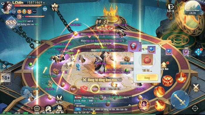 Thần Kiếm Mobile - tuyệt phẩm MMO nhập vai nhà Funtap chính thức lộ diện 1