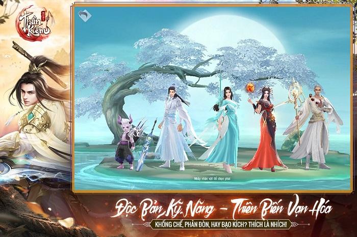 Thần Kiếm Mobile - tuyệt phẩm MMO nhập vai nhà Funtap chính thức lộ diện 4