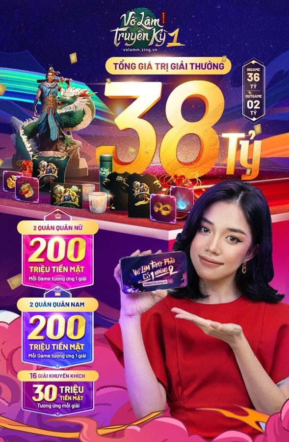 Game thủ VLTK Mobile mừng Quốc Khánh cùng sự kiện Non Sông Gấm Vóc 4