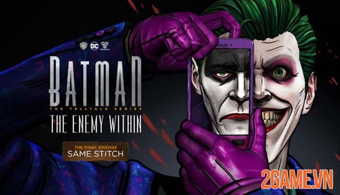 Batman: The Enemy Within - Có một người dơi vô cùng khác của Telltale 4