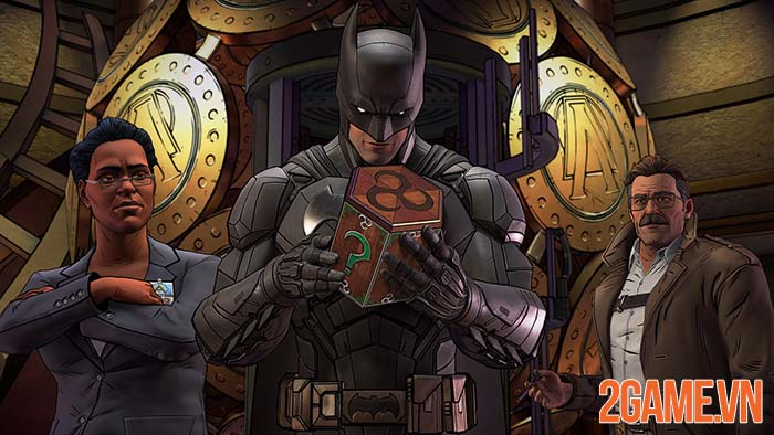 Batman: The Enemy Within - Có một người dơi vô cùng khác của Telltale 0