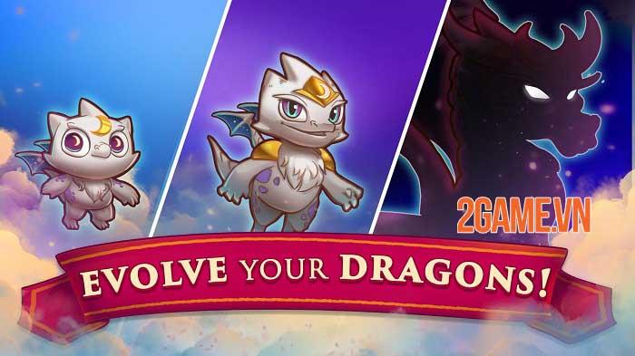 Merge Dragons - Game phiêu lưu giải đố bối cảnh thế giới rồng huyền bí 2