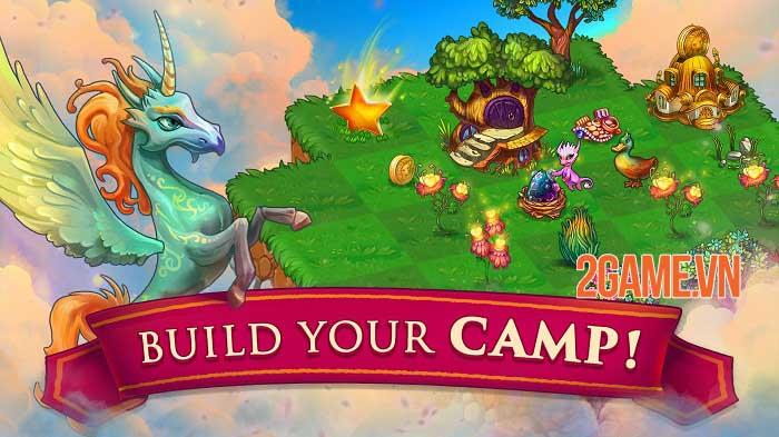 Merge Dragons - Game phiêu lưu giải đố bối cảnh thế giới rồng huyền bí 3