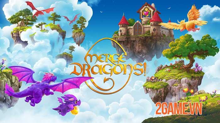 Merge Dragons - Game phiêu lưu giải đố bối cảnh thế giới rồng huyền bí 0