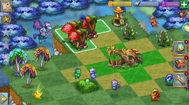 Merge Dragons – Game phiêu lưu giải đố bối cảnh thế giới rồng huyền bí